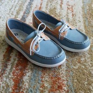 Clarks Cloudsteppers Jocolin Vista Boat Shoes